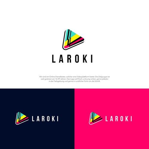 Logo für Videoportal - jung und frisch mit plakativen Farben