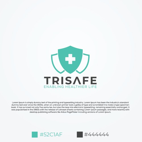 Logo design for Medical & Pharmaceutical company.