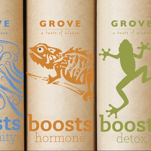 New product packaging wanted for The Grove Powders