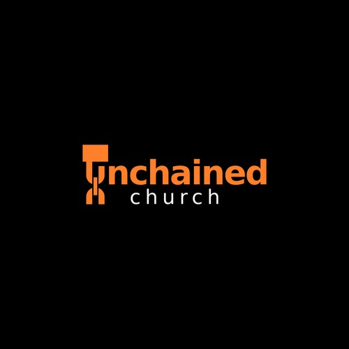 Logo for Unchained church