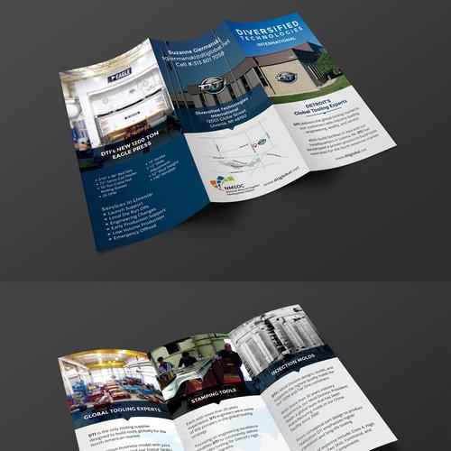 DTI Tri-Fold Design