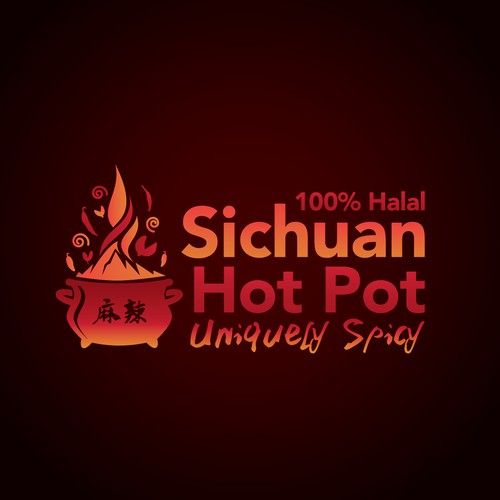Logo concept for Sichuan Hot Pot