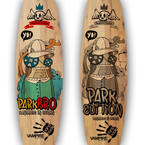 VAMPIRE boards Park bro
