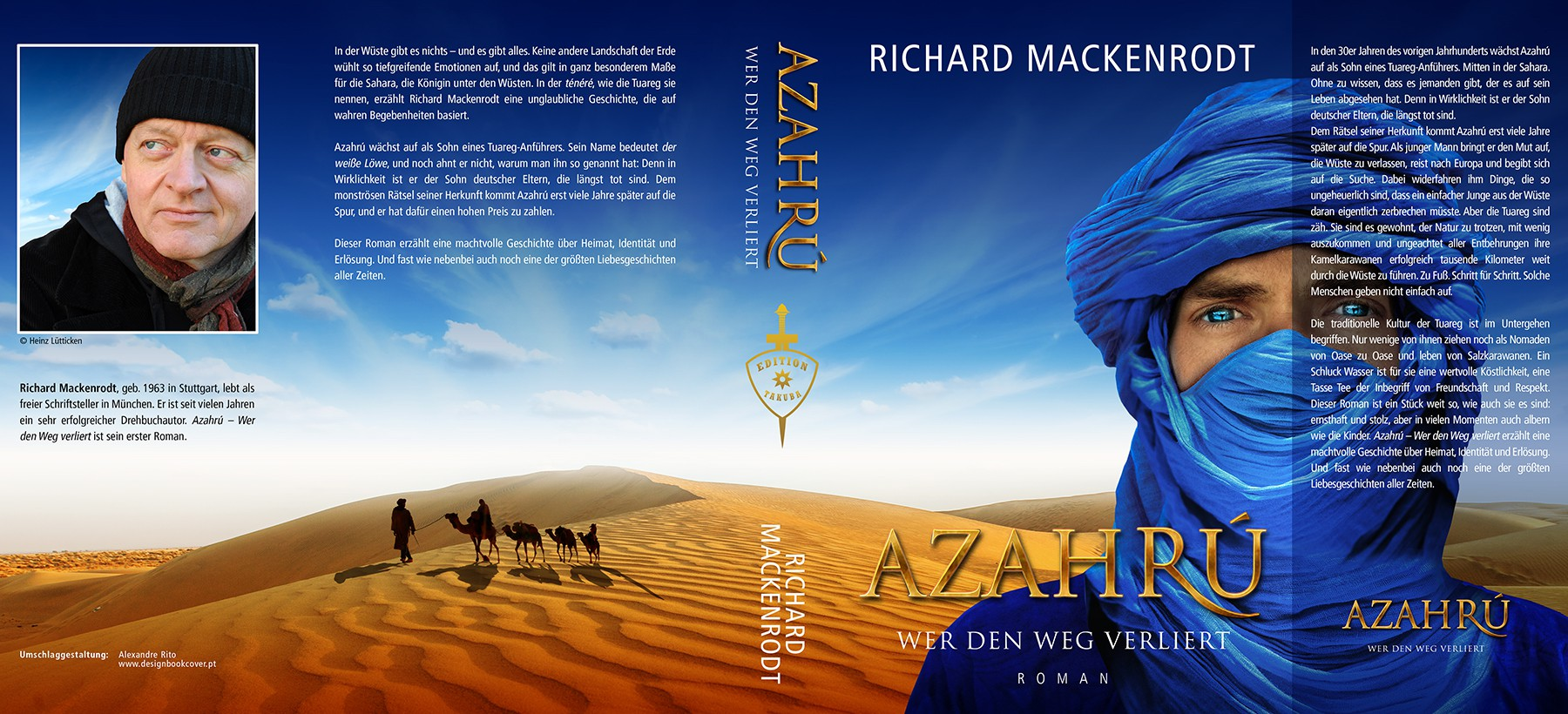 Create a book cover for an outstanding, breathtaking novel that takes place in the Sahara desert!