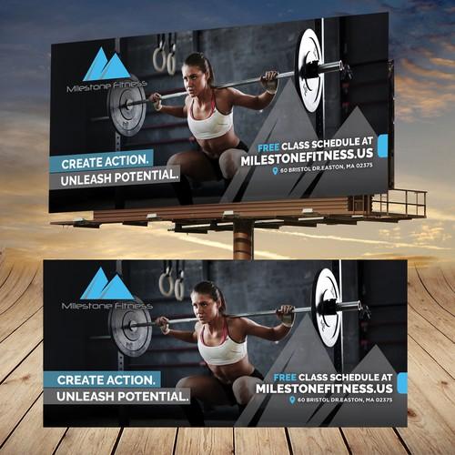 Bold Fitness Billboard
