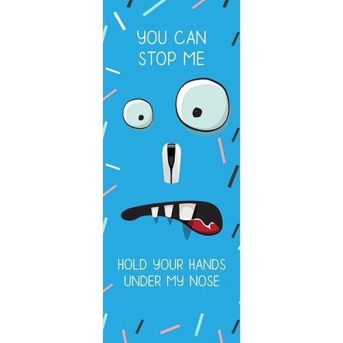 Signage Banner for Hand wash Sanitiser