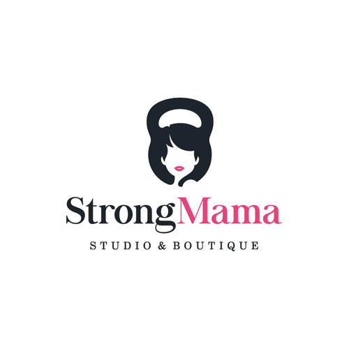 Logo concept for StrongMama