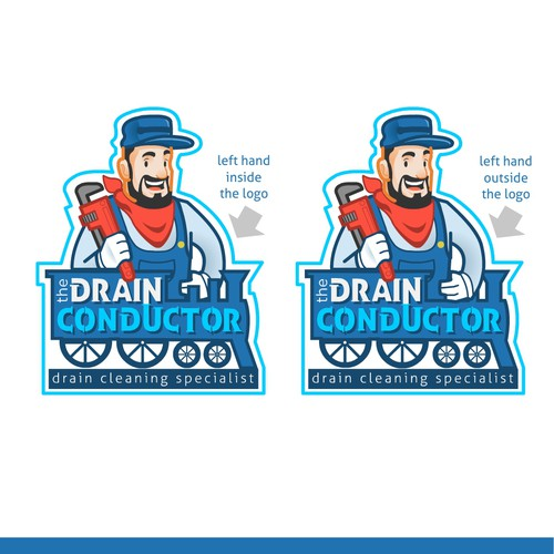Fun Logo for Plumbing company.
