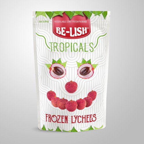 Funny Design fpr Frozen Lychees