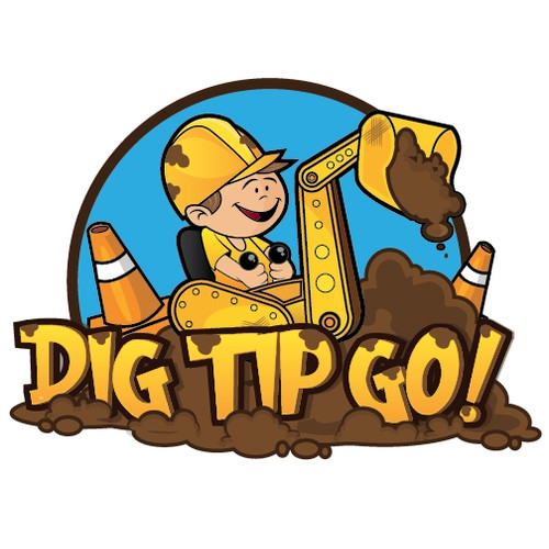 Logo needed- kids construction site toys, for kids who aren't afraid to get dirty