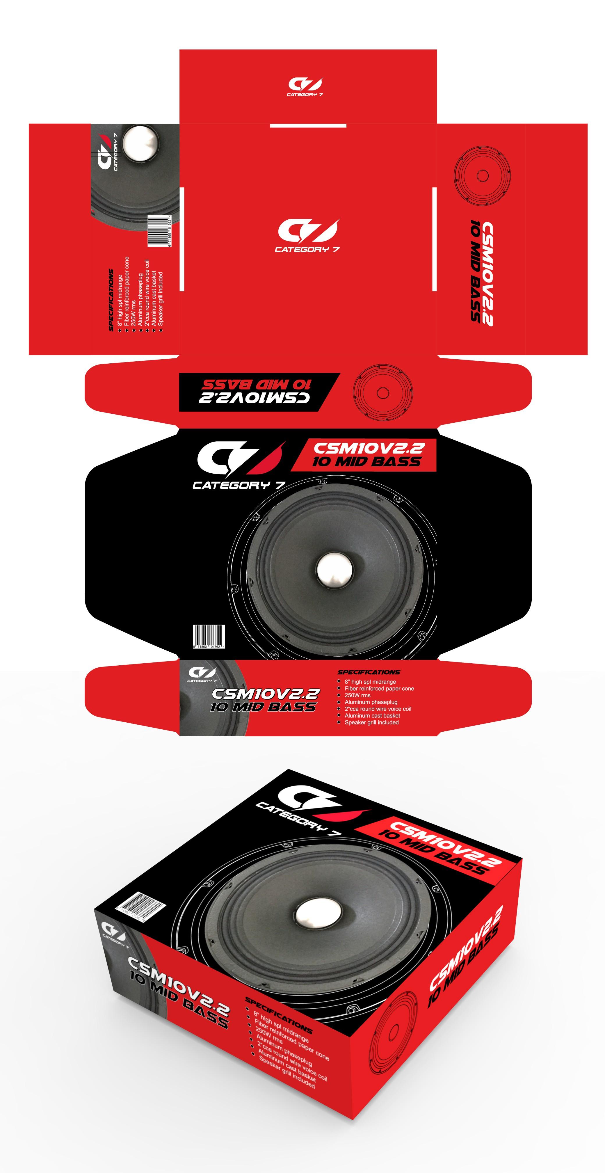 Speaker packaging design