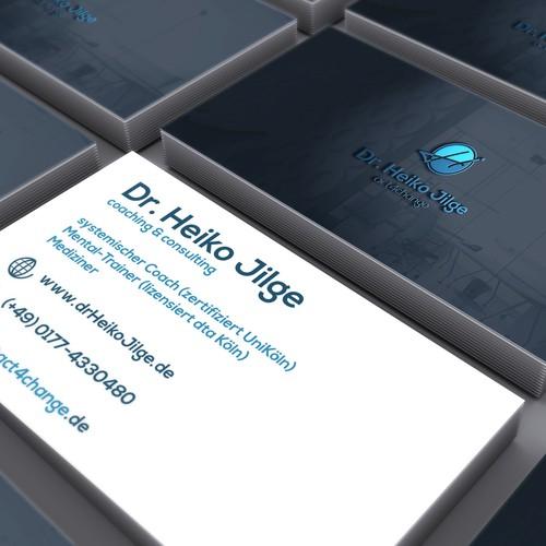 Logo + Visitenkarte Dr. Heiko Jilge