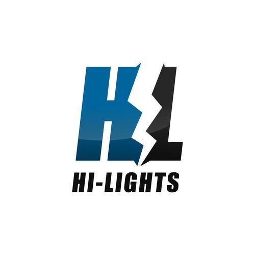 HL logo design