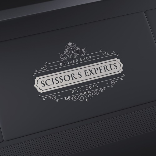 unique logo for a barber shop