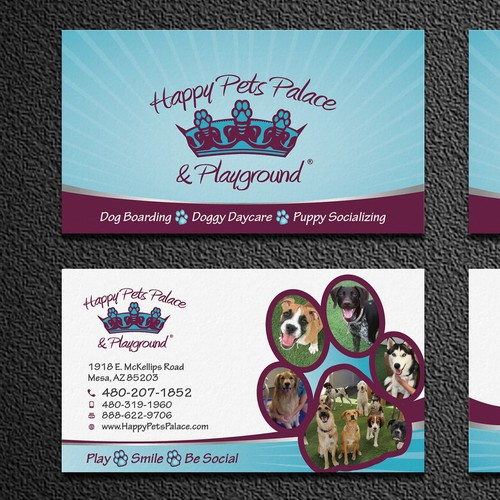Catchy Business Card Design