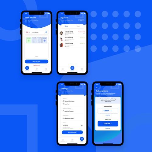 iOS app for sending Fax