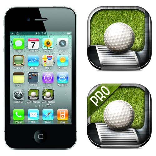 Create a new Icon for a top Golf App