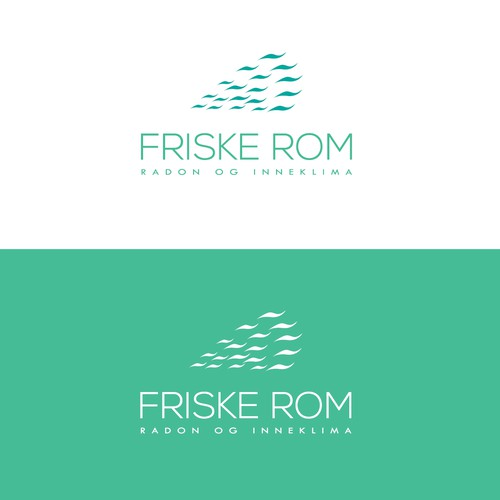 Thin logo for a Air quality service company