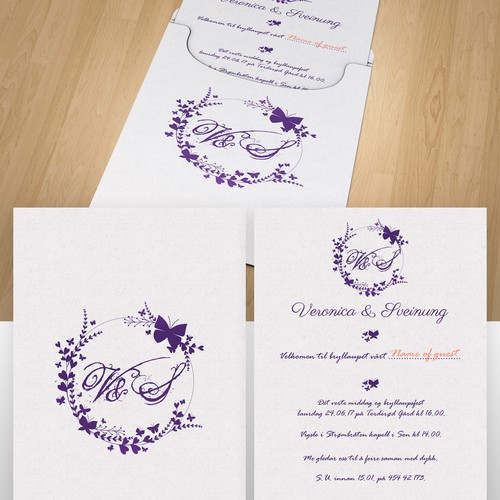 Wedding Invitation Card Winning Design
