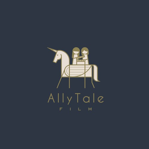"Lineart design ""AllyTale"""