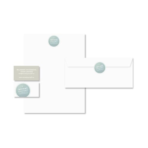 Help RetreatYourself with a new logo and business card