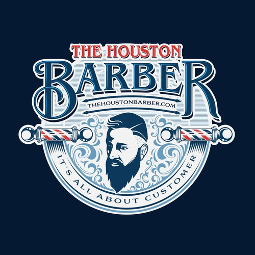 Logo Concept for Houston Barber