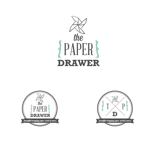 logo for The Paper Drawer
