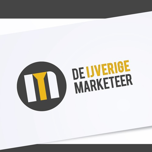 De Ijverige Marketeer Logo Redesign