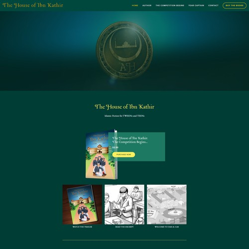 The House of Ibn Kathir Website Redesign