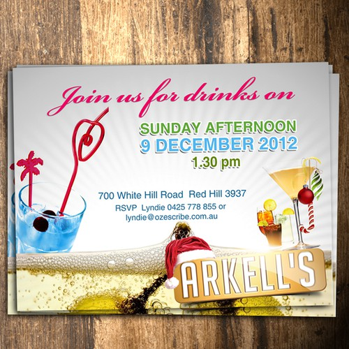 Help Arkell with a new postcard or flyer