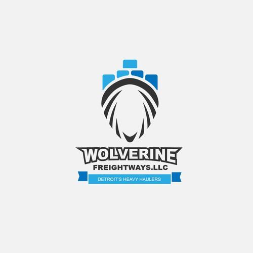 Wolverine claws logo design