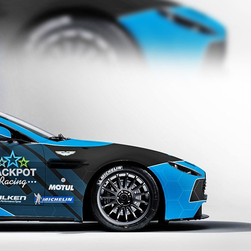 Jaguar Racing Wrap
