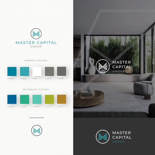 Logo and Brand Guide for Master Capital
