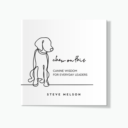 Design A Warm Book Cover About Dogs That Teach Us Life Lessons