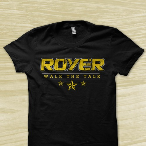 **Guaranteed** Create a winning t-shirt design for ROYER