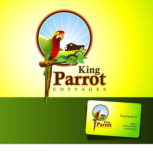 logo wanted for King Parrot Cottages