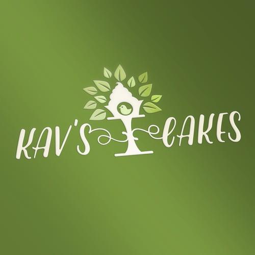 Simpe logo for vegan bakery