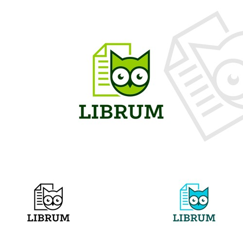 Short-form Publishing (audio/text/speed-read) Startup Logo