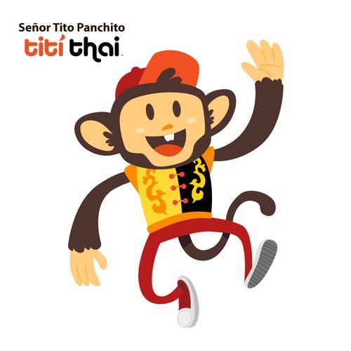 Titi Monkey Character Design/Monkey