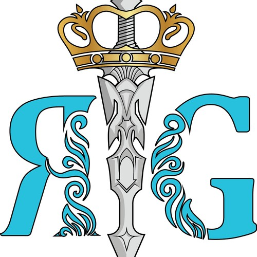 design logo RG esport