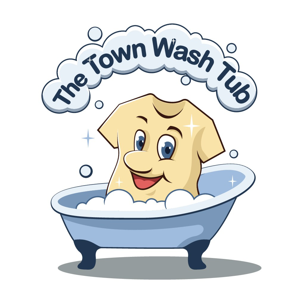 Logo for town wash tub