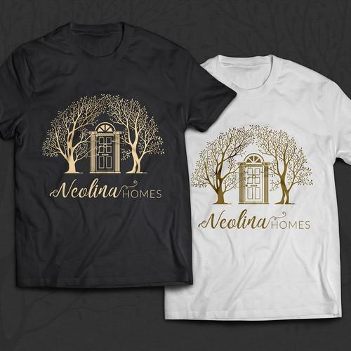 Neolina Homes logo design.