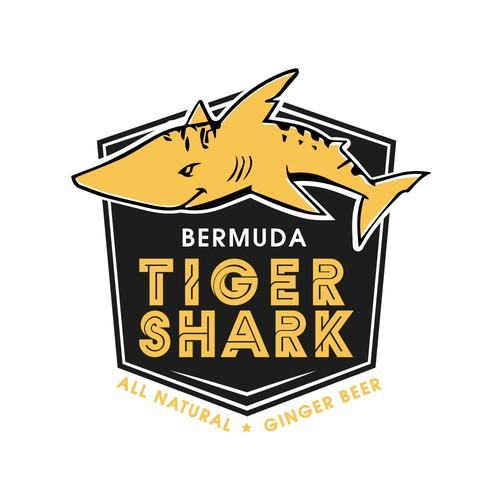 Tiger Shark Ginger Beer Logo