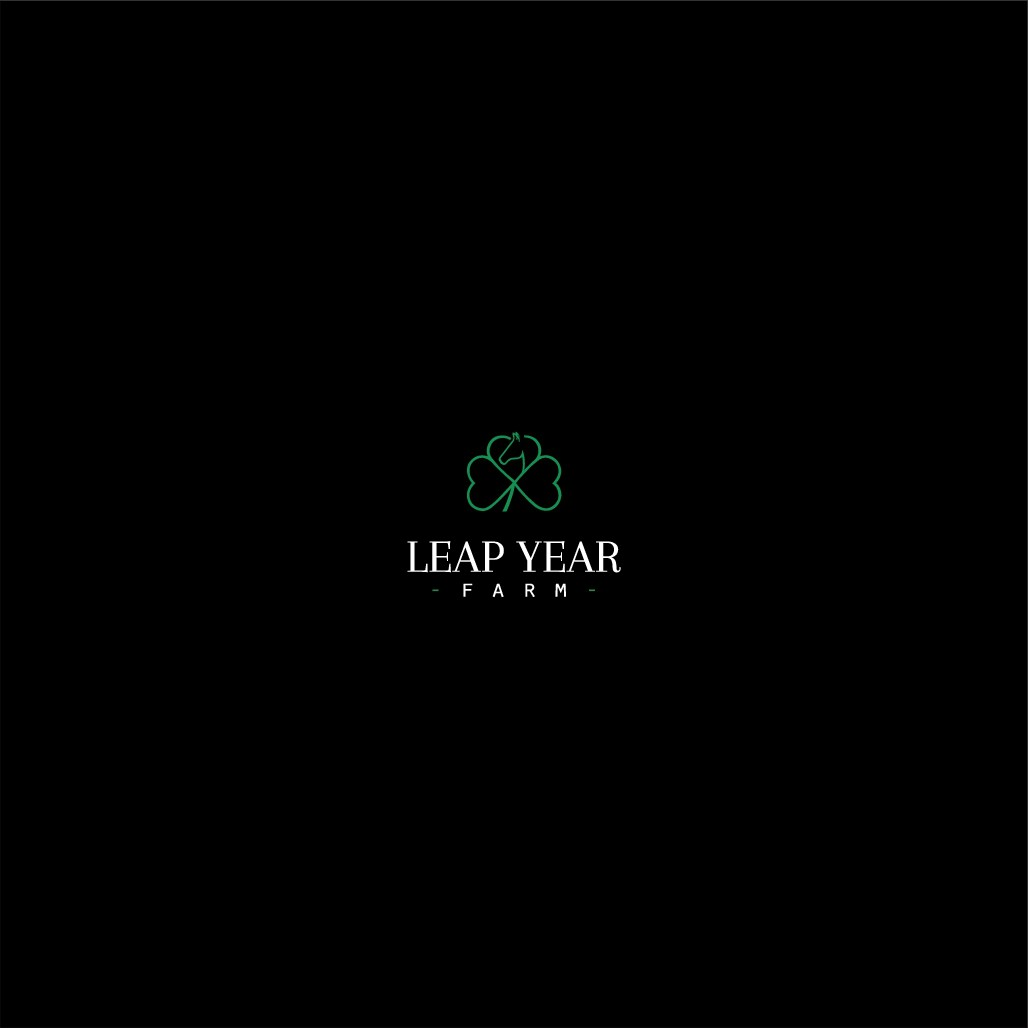 Leap year farm needs to jump into a new logo!