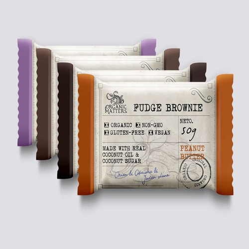 Organic Fudge Brownie - Organic Matters