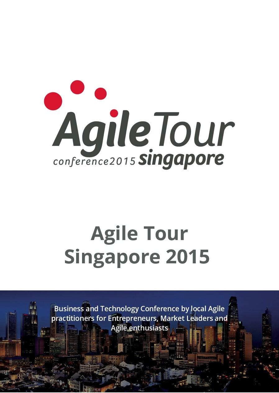 Conference Agile Tour Singapore