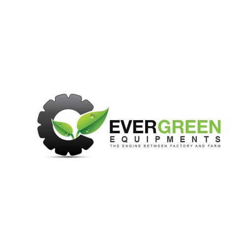 Create the next logo for Evergreen Equipment