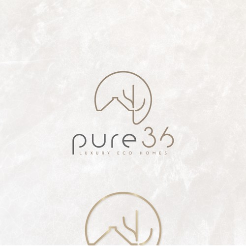 Logo for Luxury Eco Homes