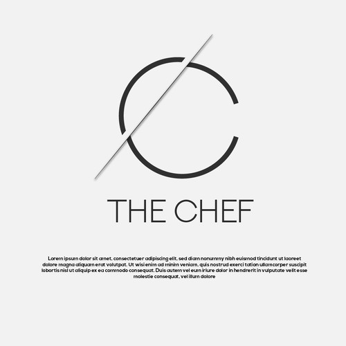 minimal chef logo