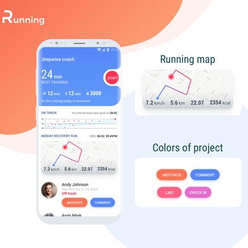 Running coach app